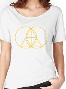 Glitch Mob - Invert Gold Women's Relaxed Fit T-Shirt