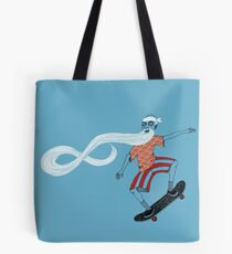 The Ancient Skater, Forever Skate ukiyo e style Tote Bag