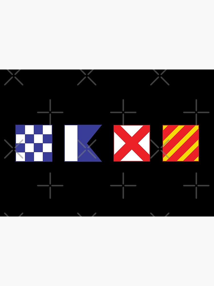 N - A - V - Y Spelled out in Signal Flags by hobrath