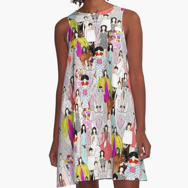 Bjork-A-thon A-Line Dress