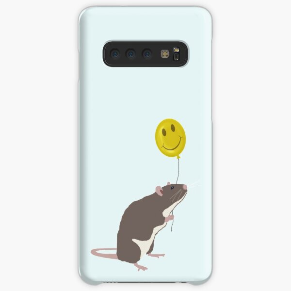 Rat with a Happy Face Balloon Samsung Galaxy Snap Case