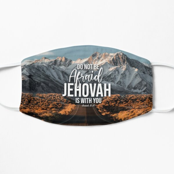 Jehovah is with you Isaiah 41:10 Mask
