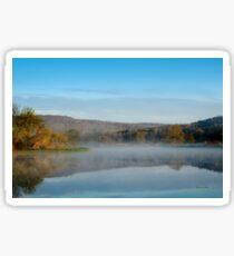 Mirror on Tranquil Lake Sticker