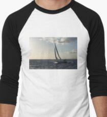 Sailing Towards the Sunlight Men's Baseball ¾ T-Shirt