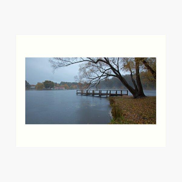 Autumn Morning - Lake Daylesford Art Print