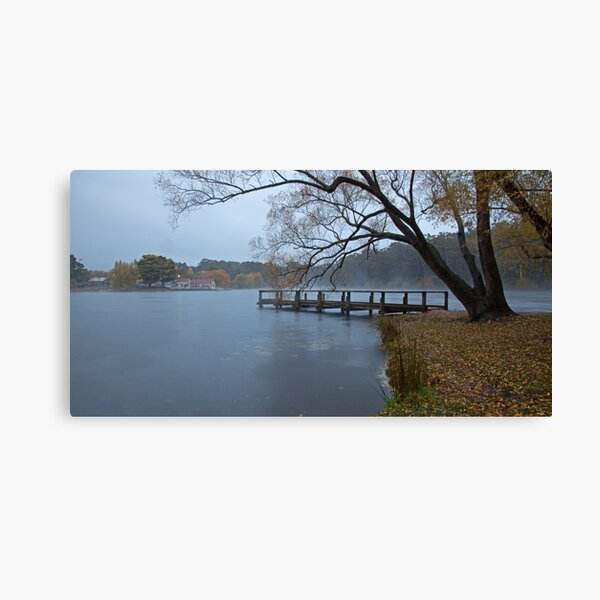 Autumn Morning - Lake Daylesford Canvas Print