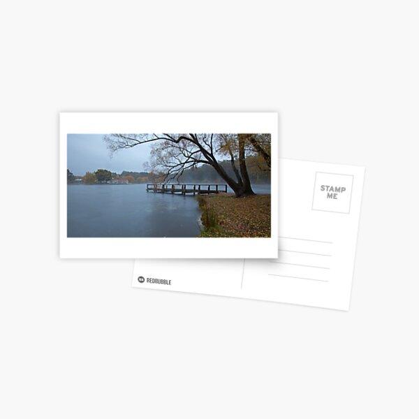 Autumn Morning - Lake Daylesford Postcard