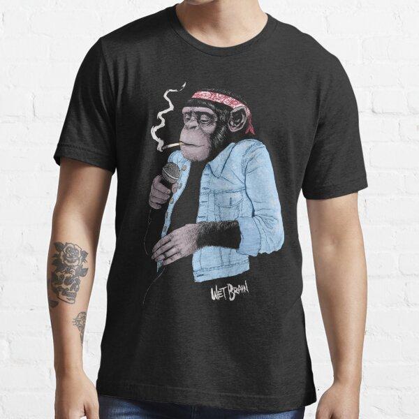 Chimpancé mojado Camiseta esencial