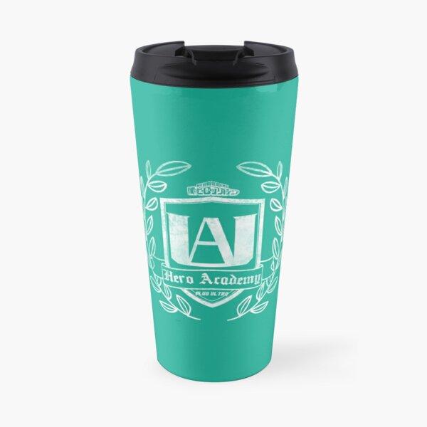 UA High School Crest - White Travel Mug