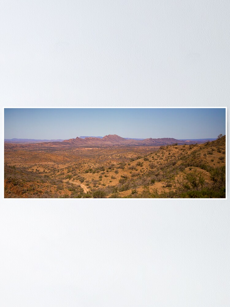 Alternate view of Wilpena Pound Poster