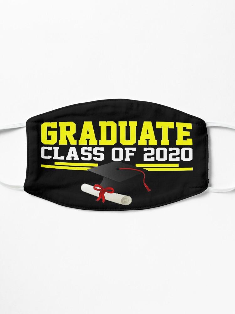 Alternate view of Graduate Class of 2020 Mask