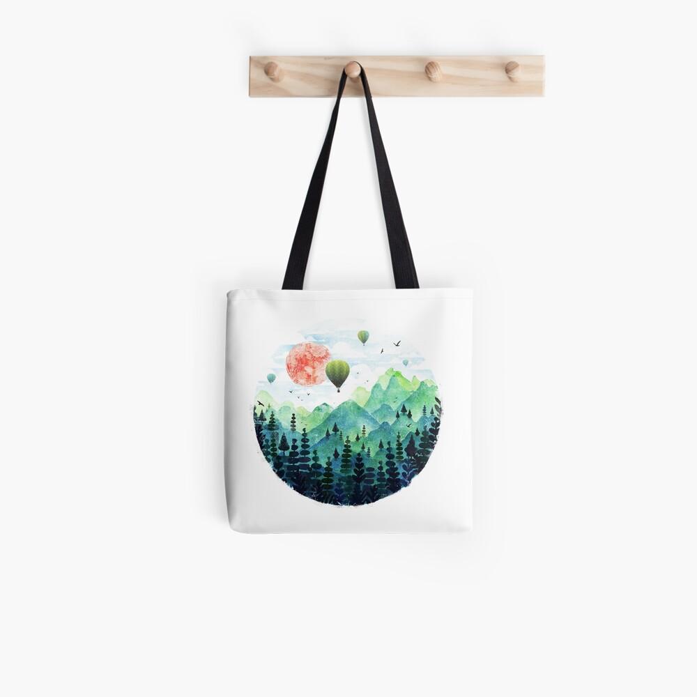 Roundscape Tote Bag