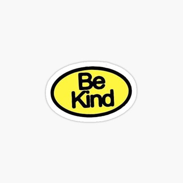 be kind halsey marshmello Sticker