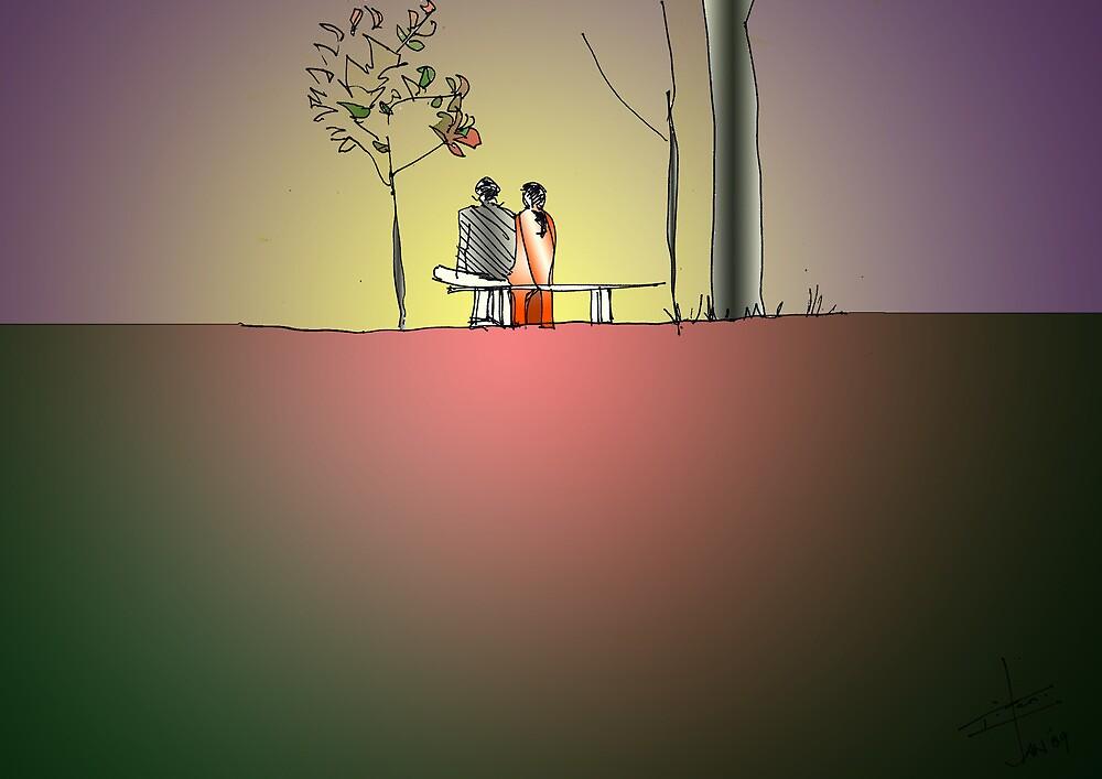Indian Lovers 2 by Eitan Kabillo