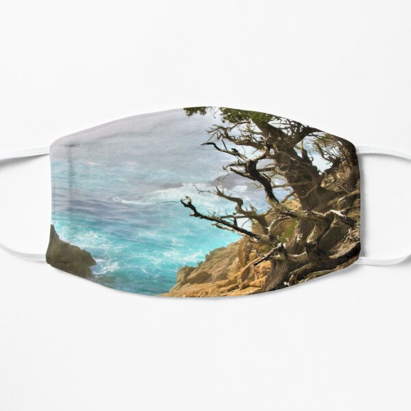 Old Cypress by the Sea Small Mask
