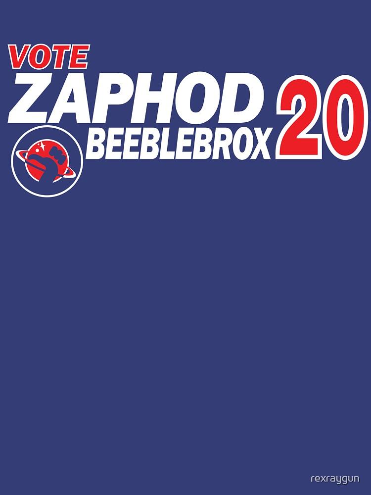 Zaphod Beeblebrox 2020 by rexraygun