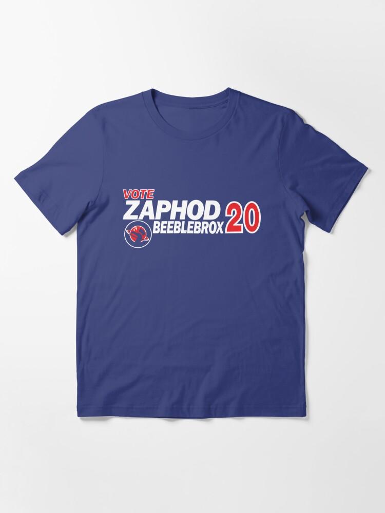 Alternate view of Zaphod Beeblebrox 2020 Essential T-Shirt