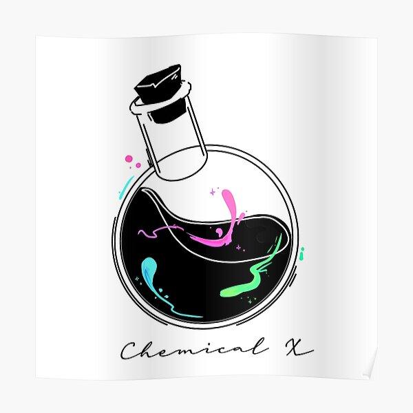 Chemical X Alchemist Bottle- minimalist egirl aesthetic Poster