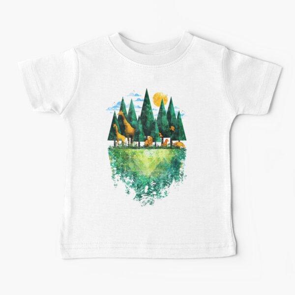 Geo Forest Baby T-Shirt