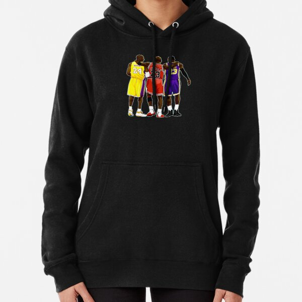 Kobe Michael LeBron - Together We Stand Pullover Hoodie