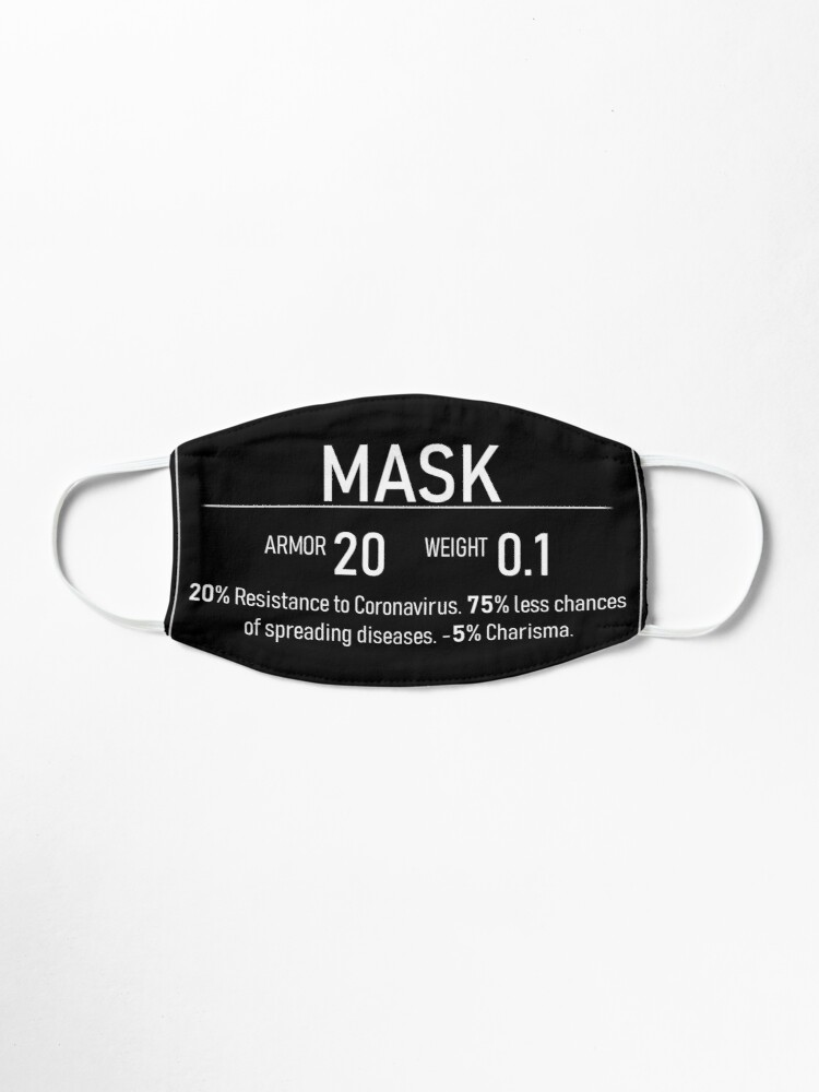 Alternate view of Face Armor Mask