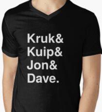 Kruk& Kuip& Jon& Dave. Men's V-Neck T-Shirt