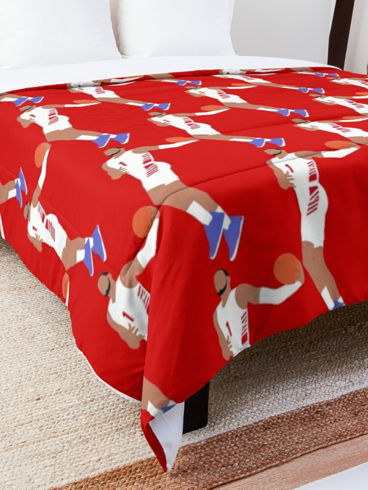 Alternate view of Obi Toppin Dayton Dunk Comforter