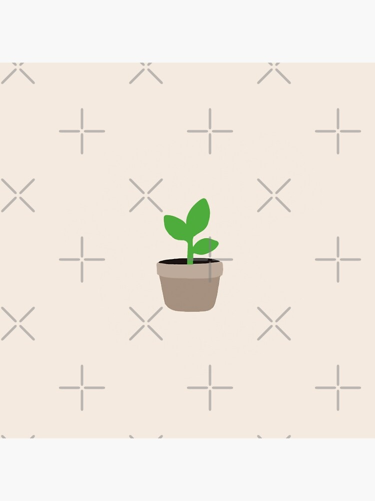 Small Plant - Button by pixelatedcowboy
