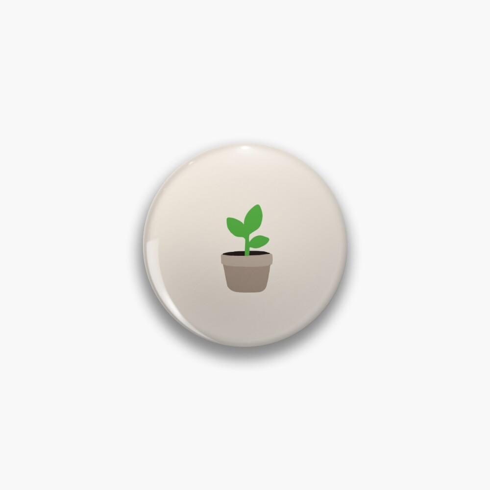Small Plant - Button Pin