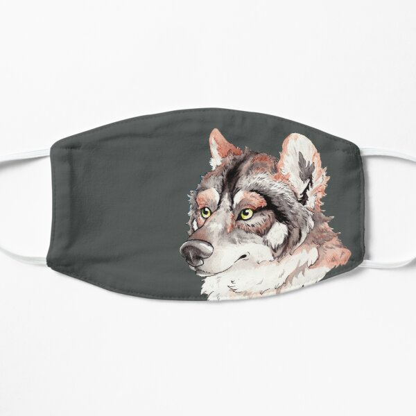 Mexican Gray Wolf Bust Mask