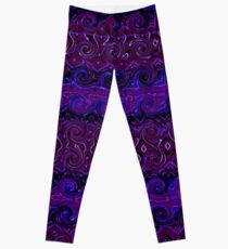 Violet Tapestry Leggings