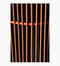 Hot rod automobile grille Photographic Print