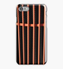 Hot rod automobile grille iPhone Case/Skin