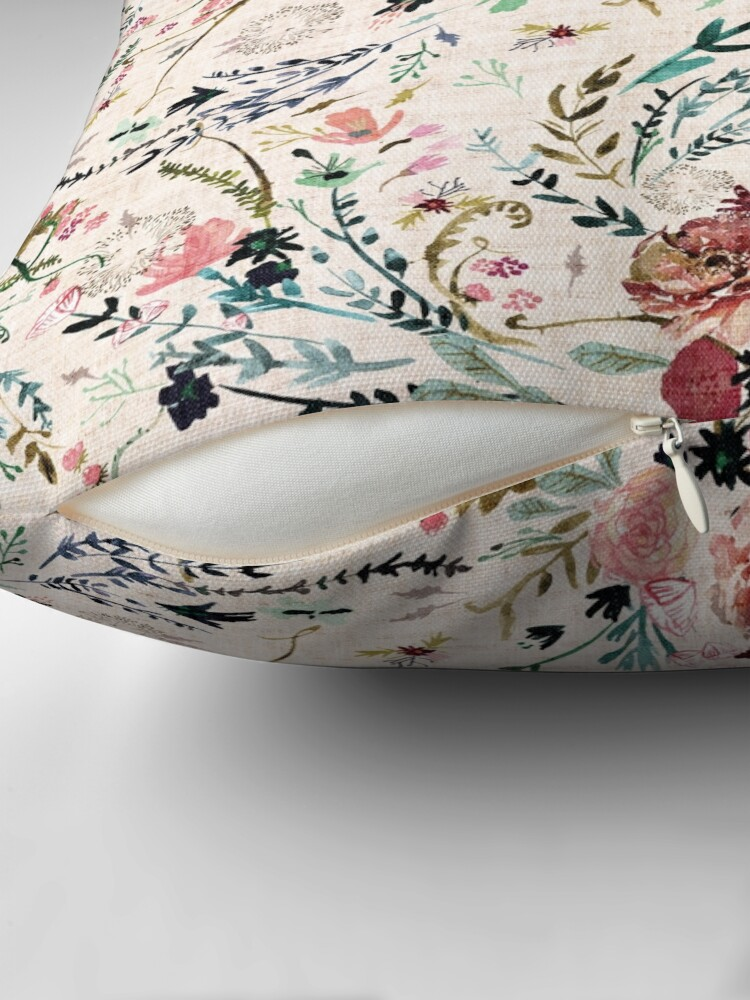 Alternate view of Fable Floral  Floor Pillow