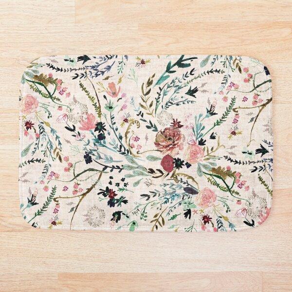 Fable Floral  Bath Mat