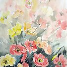 Poppy Fields by Marie Theron