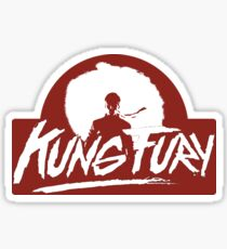Kung Fury Sticker
