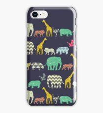 geo zoo iPhone Case/Skin