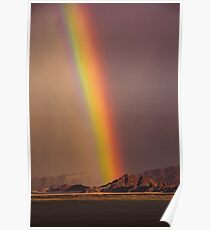 Rainbow After the Rain Poster