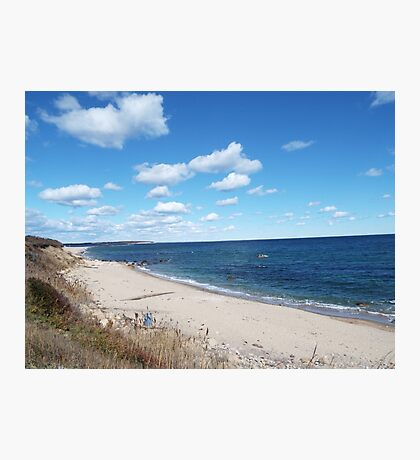 Block Island beach Photographic Print