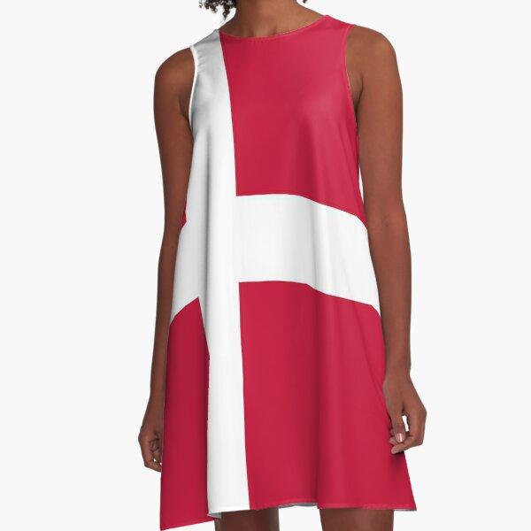 Danish Socks A-Line Dress
