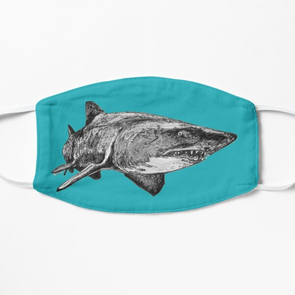 Mark the Grey Nurse Shark Flat Mask