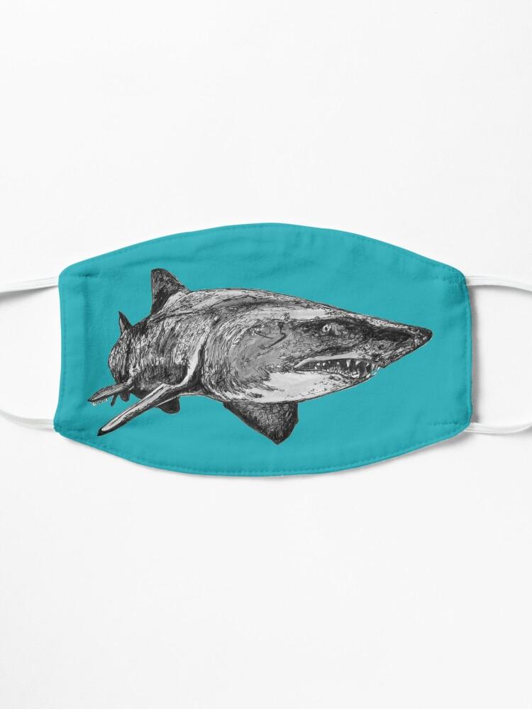 Alternate view of Mark the Grey Nurse Shark Mask