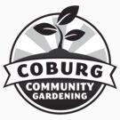 CCG Logo (Grayscale) by Coburg Community Gardening