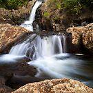 Kaiate middle falls by Ken Wright