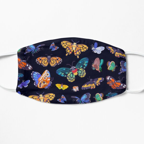 Butterflies Day Flat Mask
