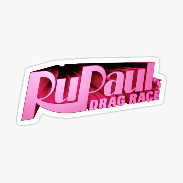 drag race logo! Sticker