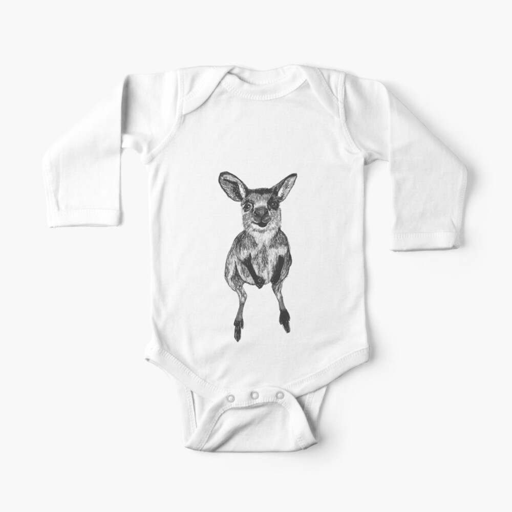 Josephine the Baby Kangaroo Baby One-Piece