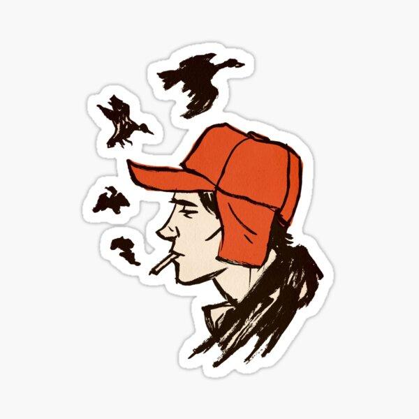 holden caulfield, Catcher In The Rye  Sticker