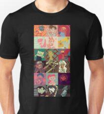 18 Cartoon Protagonists T-Shirt